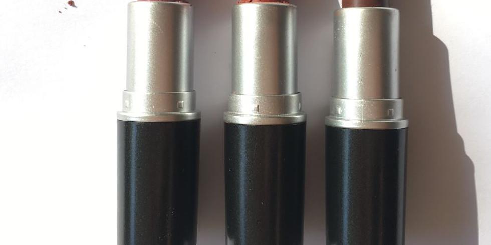 Atelier Cosmétique / Fabriquer son rouge à lèvres naturel