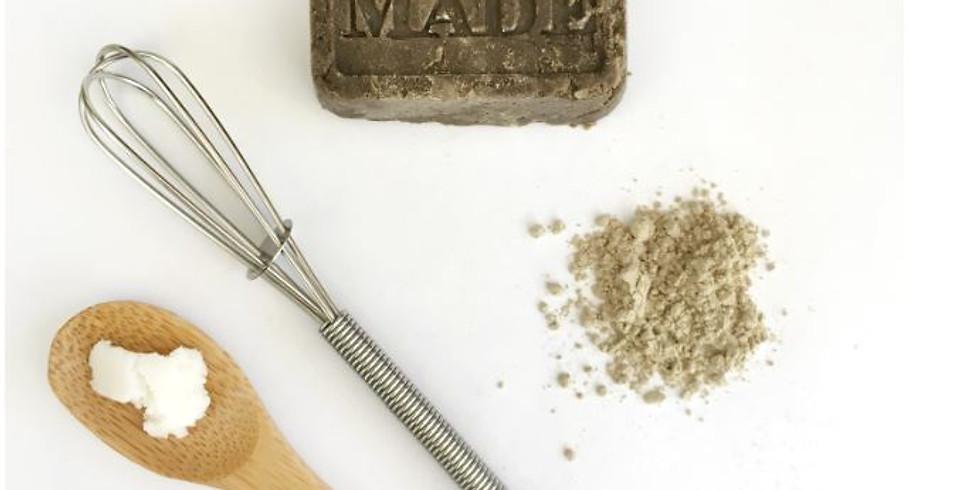 Atelier Cosmétique / Fabriquer son shampoing solide aux plantes (1)