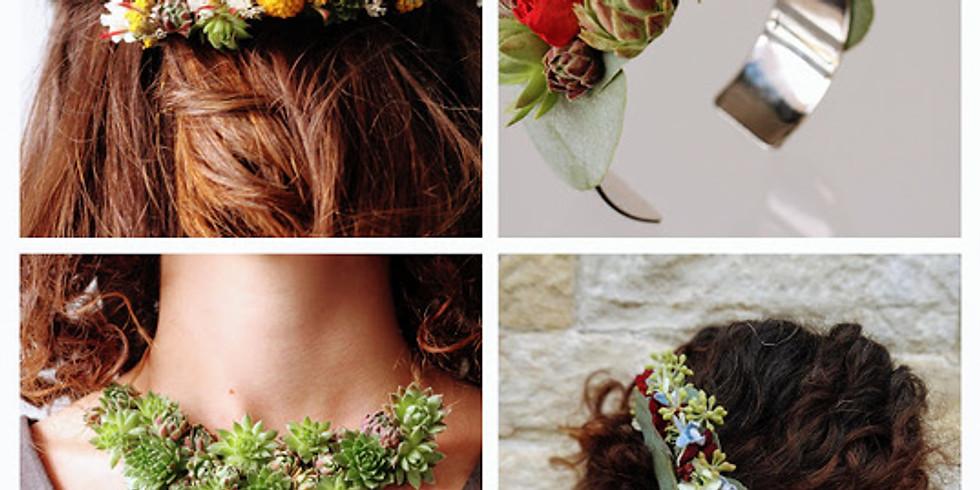 Atelier DIY - Fabriquer votre bijou fleuri