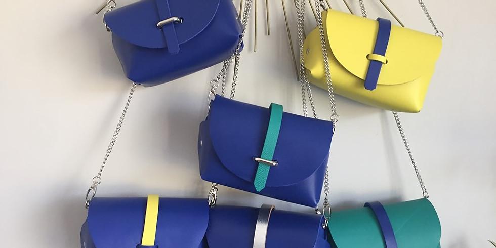REPORTÉ / Atelier DIY / Fabrique ton petit sac en cuir personnalisé !