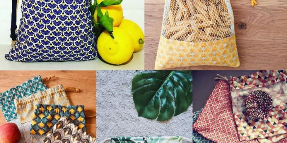 Atelier Couture / Coudre son sac à vrac réutilisable