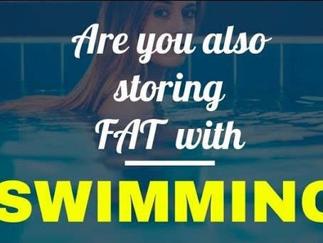 Why swimming does not burn fat