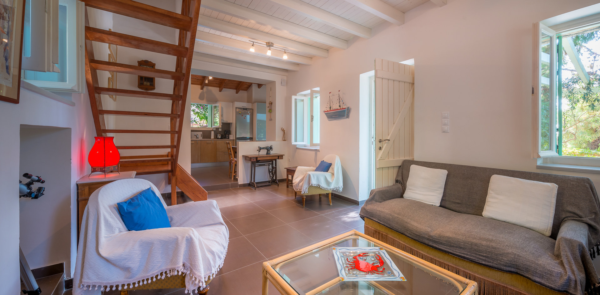 fully equipped house aegina