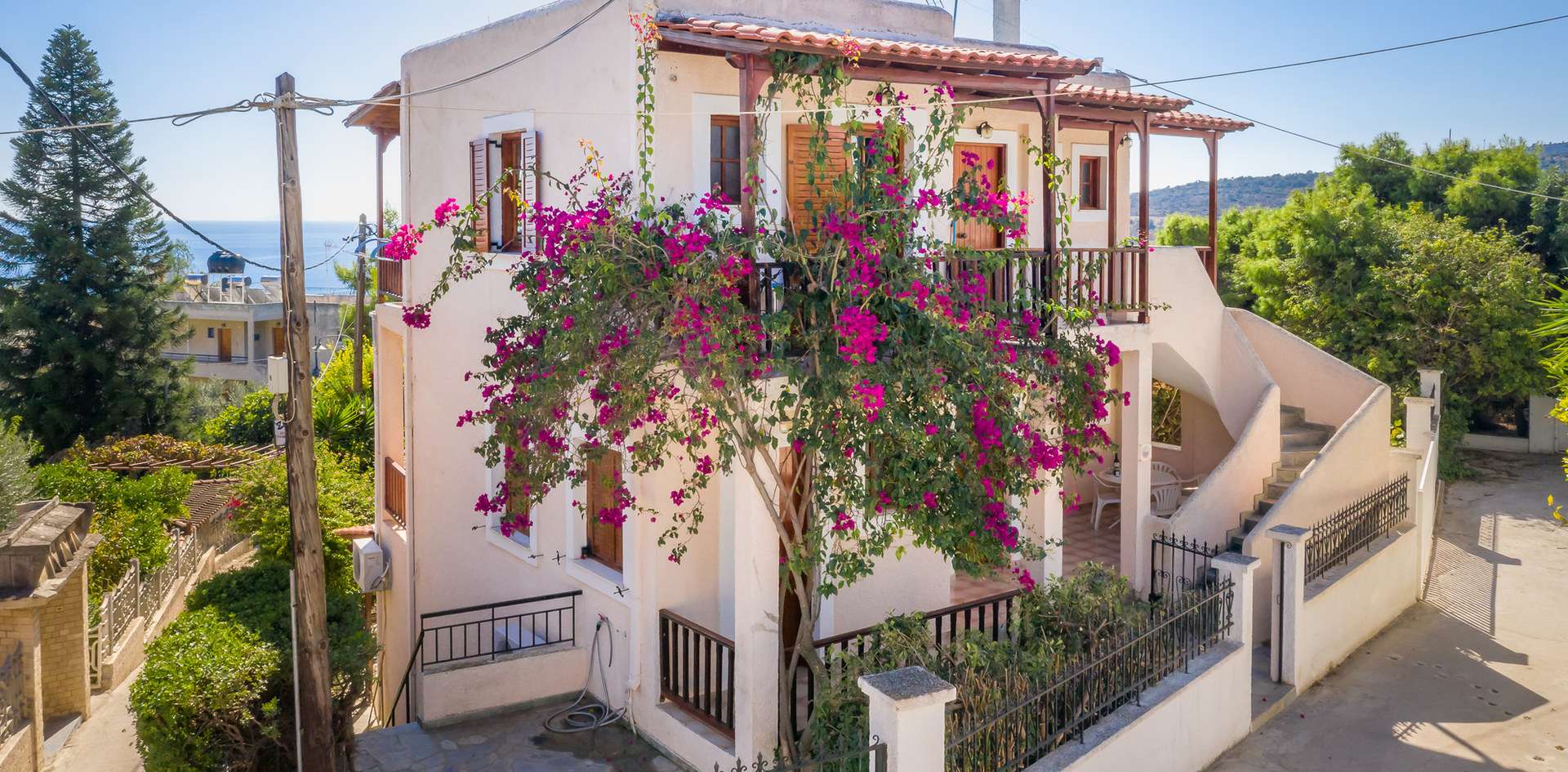 holiday homes aegina rent