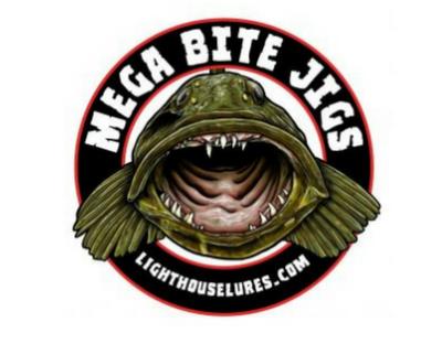 Mega Bite Marine Grade Vinyl Boat Decal