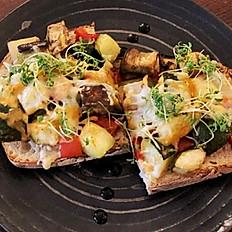 Tosta de Vegetais Confitados / Veggie Confit Bruschetta
