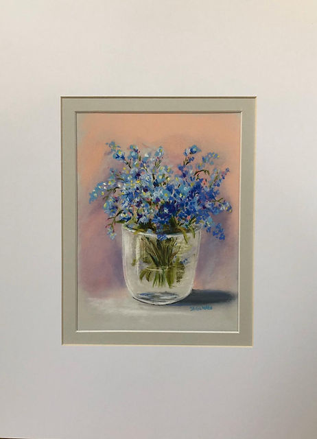 Forget-Me-Nots On Grey Table.jpeg
