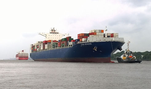 Container_ship_CCNI_Arauco_on_the_river_