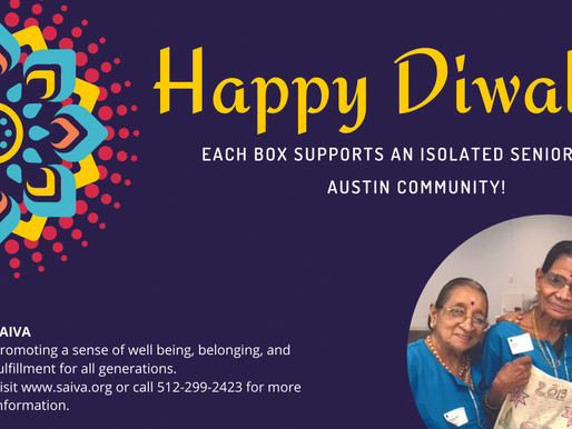 SAIVA Lights Up Diwali!