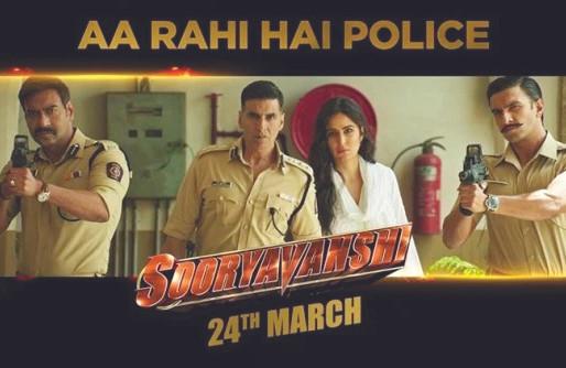 Akshay Kumar Starrer Sooryavanshi To Hit Screens On March 24