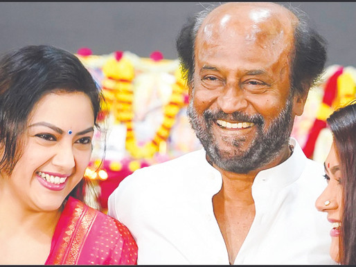 Meena's Traditional Rural Look For Thalaivar 168!