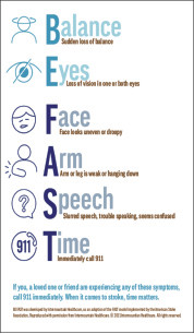 Can You Recognize Signs Of Stroke?