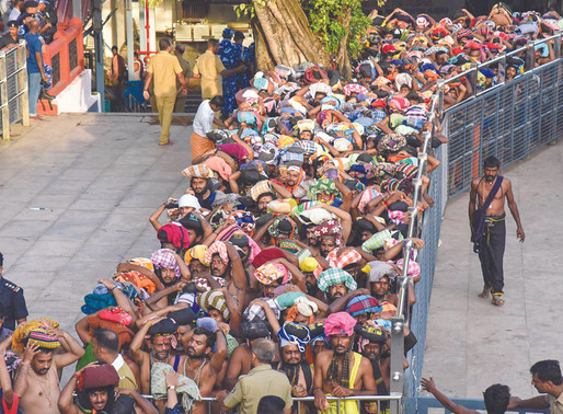 Sabarimala Temple Rakes In Rs 156 Crore As First-Leg  Of 41-Day Annual Pilgrimage Comes To A Close