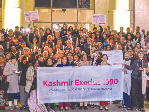 Candlelight Vigil And Proclamation Of  Kashmiri Pandit Exodus Recognition Day