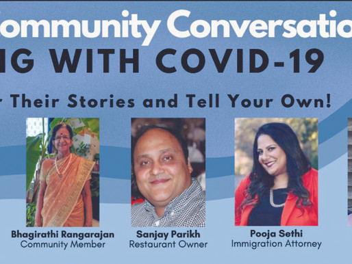 IACT Hosts Community Conversation: Coping With Covid-19