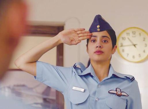 Gunjan Saxena The Kargil Girl Review: Janhvi Kapoor Movie