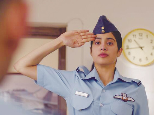 Gunjan Saxena The Kargil Girl Review: Janhvi Kapoor Movie
