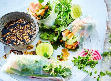 Vietnamesiche Sommerrollen