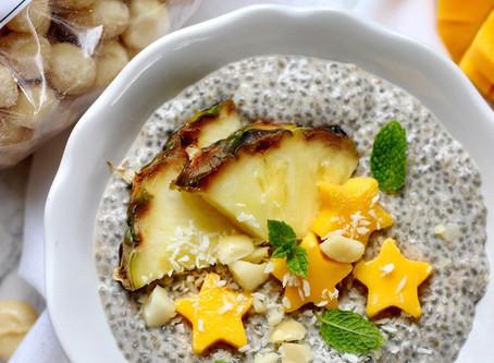 Macadamia Chia Pudding