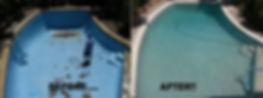 Warner Pool & Spa Care renovation