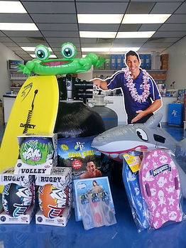 Warner Pool Care stocks all the newest toys to add that bit of fun to your pool