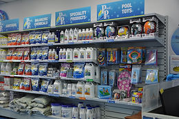 Warner Pool Care stocks all the chemical needed to keep your pool looking crystal clear