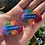 Thumbnail: Rainbow Dangle Earrings and Vaxxed Necklaces (for LGBTQ+ charity!)