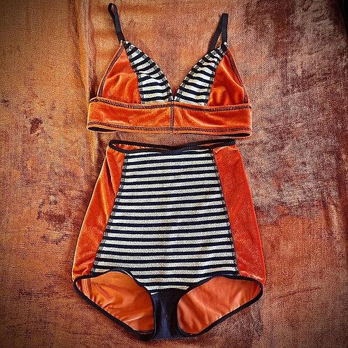 Rachel Bralette/HW Panty Set