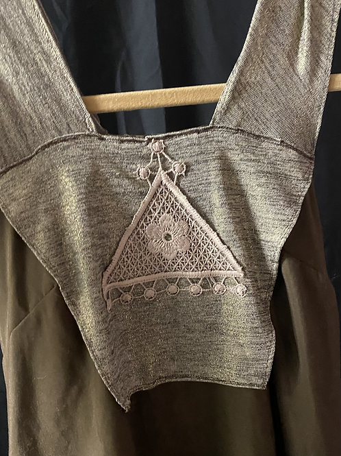 Bronze Planchette Dress - Size 12