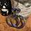 Thumbnail: Halloween Dangles - Purple/Green/Black