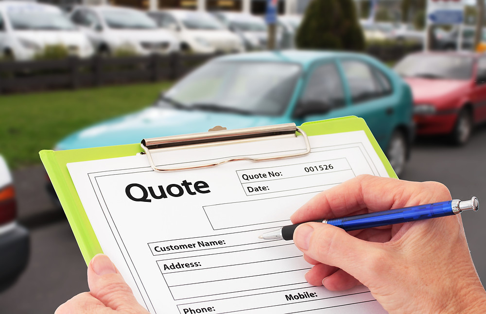 vehicle delivery quote form for your vehicle deliveries across the UK