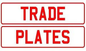trade plate vehicle movements in the UK