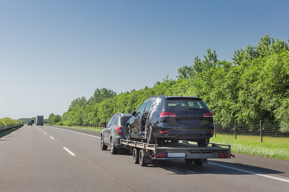 car trailer transport delivery service in the UK