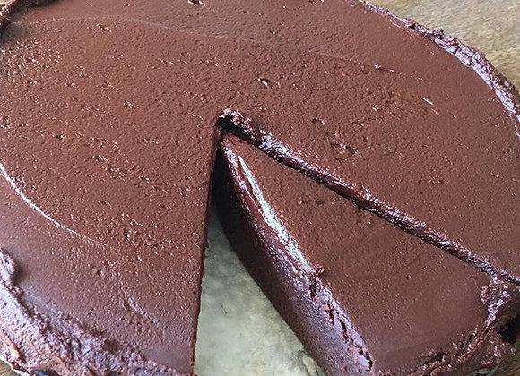 A formidably good vegan chocolate cake