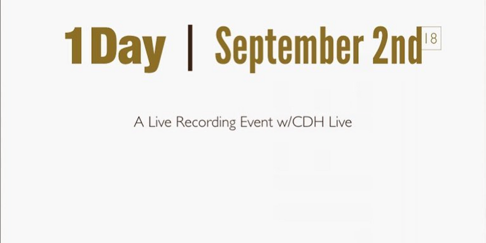 1Day | CDH Live! Concert Recording event