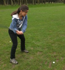 Golf lessons: adventures in biomechanics