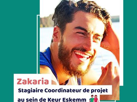 Témoignage - Zakaria, stagiaire Coordinateur de Projet au sein de l'association Keur Eskemm 👫