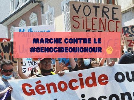 ✊ Marche contre le #GénocideOuïghour - Samedi 2 octobre