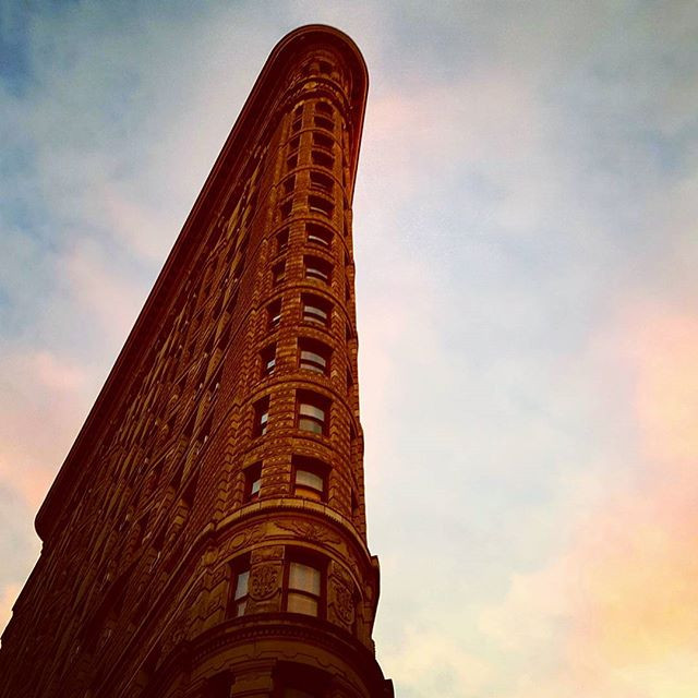 The Flatiron Building, where I worked for 8.5 years in publishing!