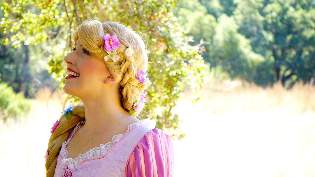 Los Angeles Princess parties Rapunzel tangled disney