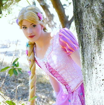 rapunzel tangled princess party los angeles entertainment