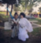 leia star wars princess party los angeles ventura county