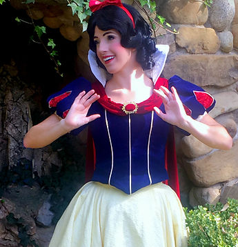 snow white los angeles princess party character