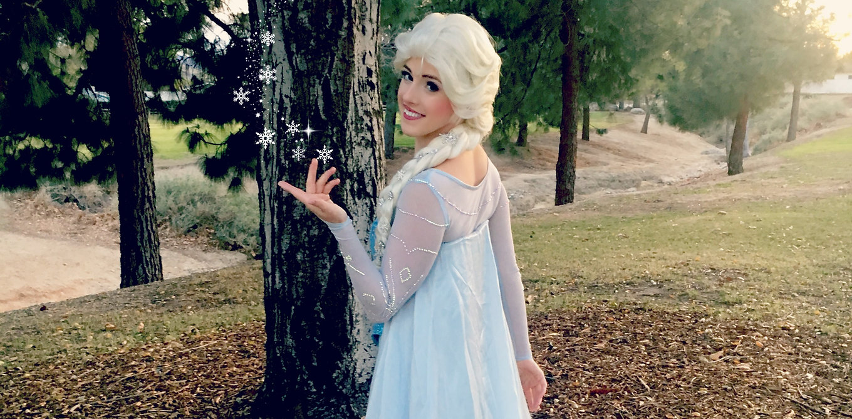 elsa frozen fever birthday princess party los angeles