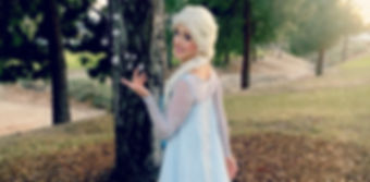 elsa frozen fever birthday princess party los angeles