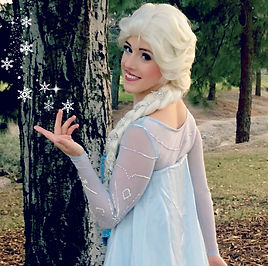 elsa snow queen let it go princess party character los angeles