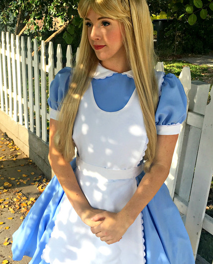 Alice in wonderland princess party los angeles party character