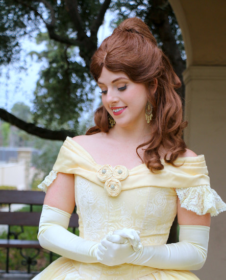 Belle princess party character los angeles