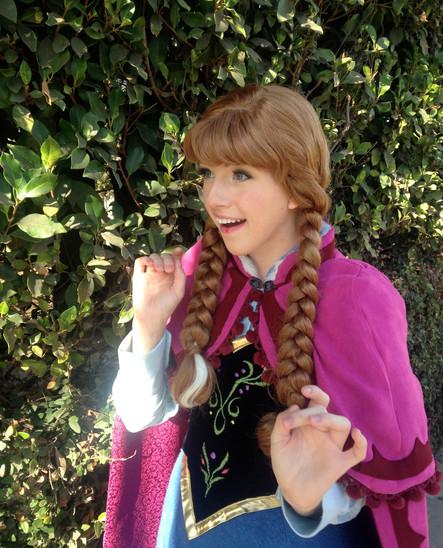 anna frozen princess party birthday entertainer