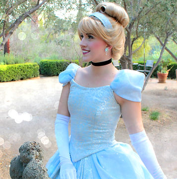 cinderella princess party character birthday los angeles